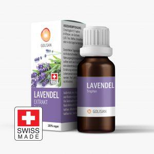 Golisan Lavendel Extrakt Tropfen aus Lavendelöl